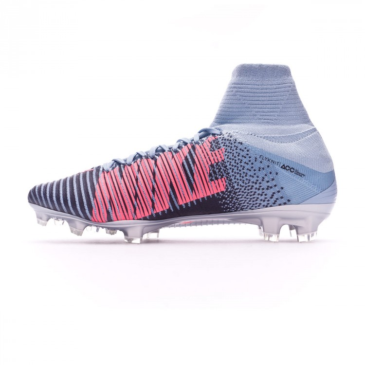 Y una vez delincuencia  Football Boots Nike Mercurial Superfly V ACC FG Light armory blue-Armory  navy-Armory blue - Football store Fútbol Emotion