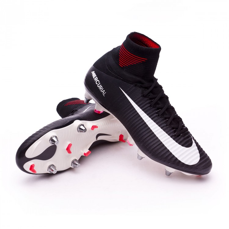 Chaussure de foot Nike Mercurial Superfly V ACC SG Pro Black