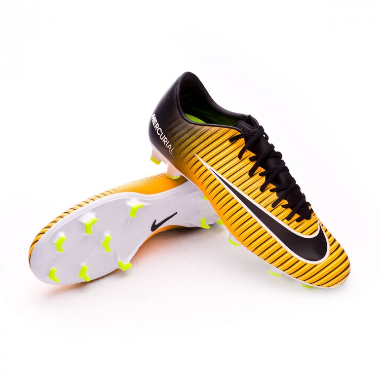 Boot Nike Mercurial Victory VI FG Laser orange-Black-White-Volt ... 9e4ac346cb