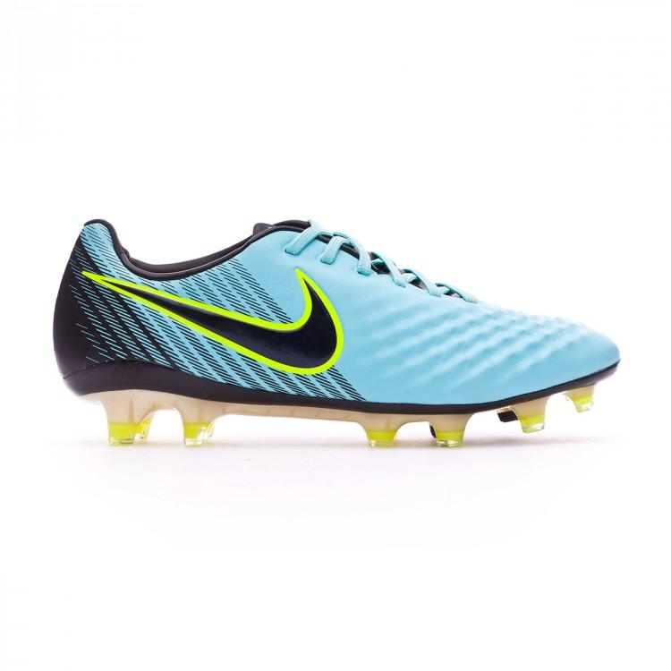 Zapatos de fútbol Nike Magista Opus II FG Light aqua-Black-Igloo ... e6a06331631e7
