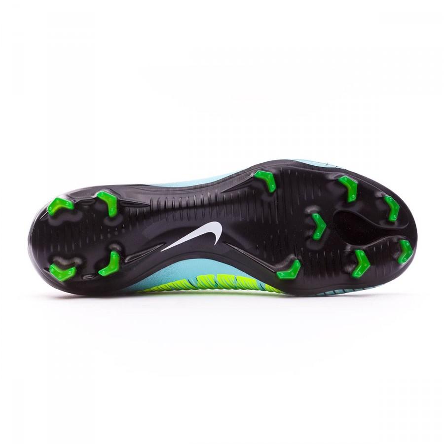 promo code 59549 0edbb Football Boots Nike Mercurial Vapor XI ACC FG Light aqua-Black-Igloo-Volt -  Football store Fútbol Emotion