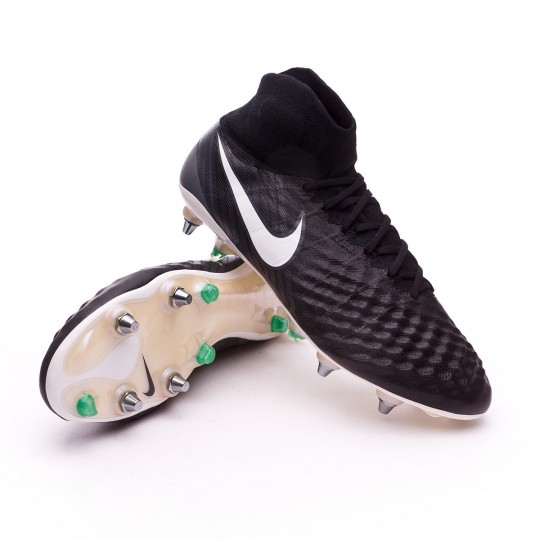 Bota  Nike Magista Obra II ACC SG-Pro Black-White-Cool grey-Stadium green