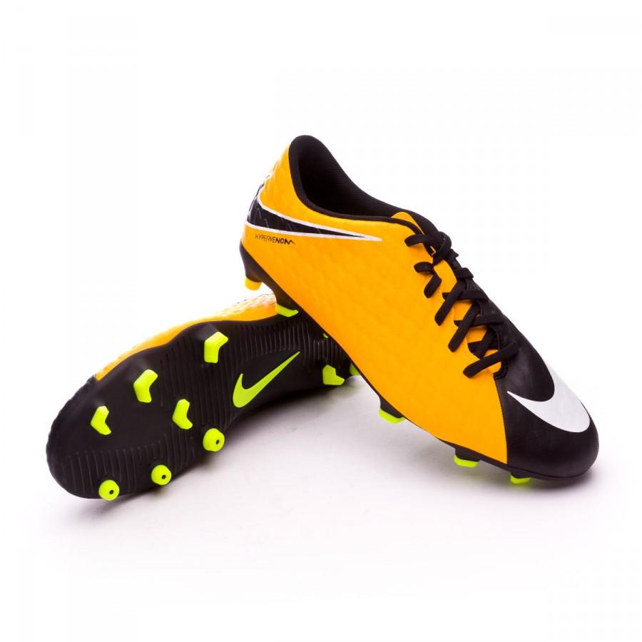 d609c599b0 Chuteira Nike Hypervenom Phade III FG Laser orange-Black-White-Volt - Loja  de futebol Fútbol Emotion