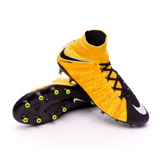 Bota  Nike Hypervenom Phantom III ACC DF AG-Pro Laser orange-Black-White-Volt