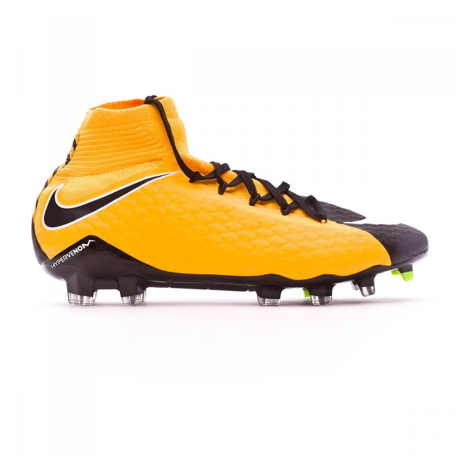 1f0781a564d9 Football Boots Nike Hypervenom Phatal III DF FG Laser  orange-Black-White-Volt - Football store Fútbol Emotion