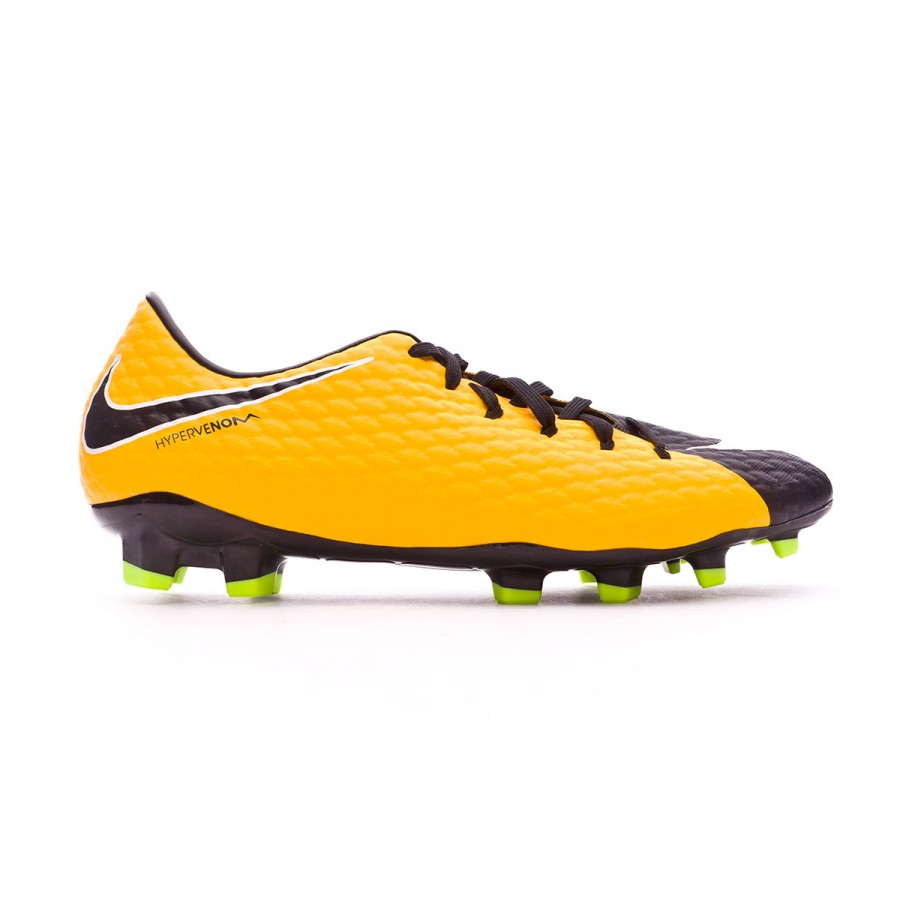 new style 274ce 9c5db Chaussure de foot Nike Hypervenom Phelon III FG Laser orange-Black-White-Volt  - Boutique de football Fútbol Emotion