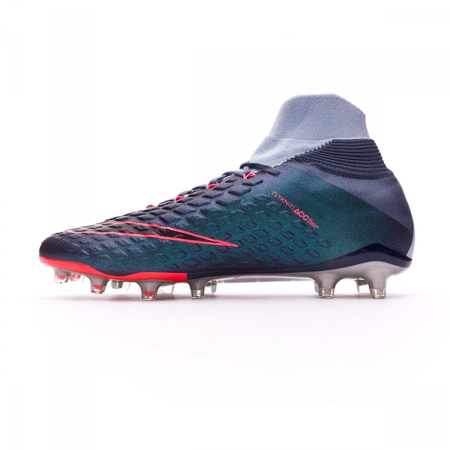 d226bebcc Football Boots Nike Hypervenom Phantom III DF FG Light armory blue-Armory  navy-Armory blue - Football store Fútbol Emotion