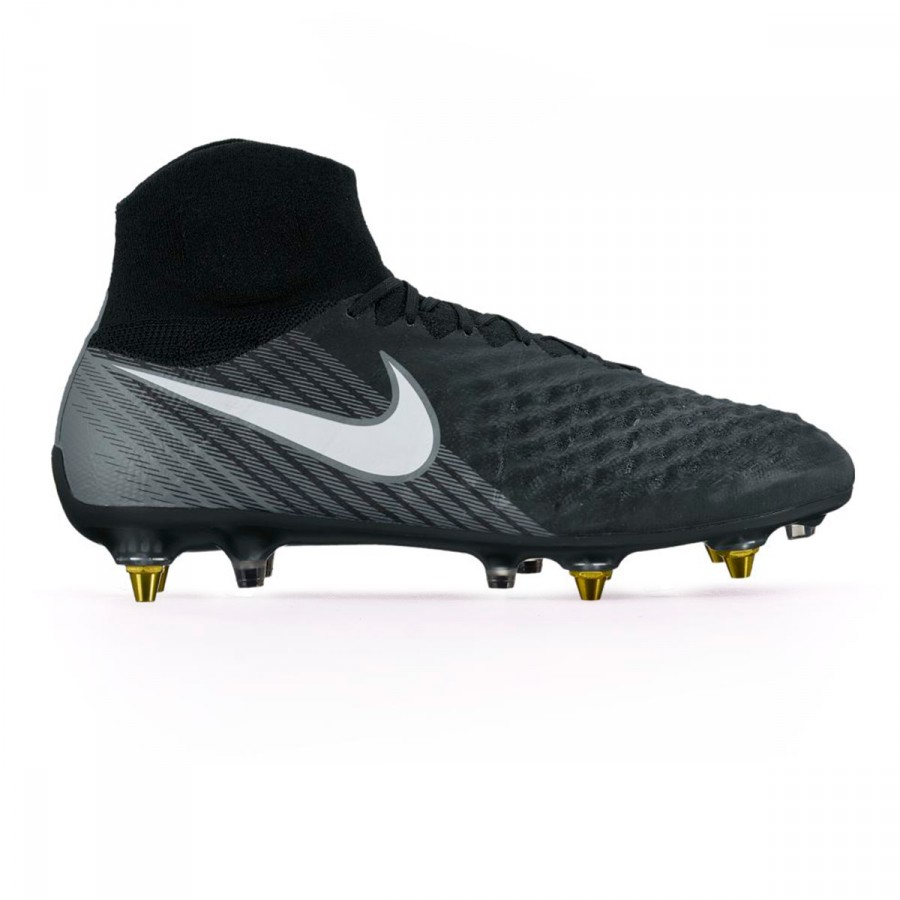 5f5d5bce1 Football Boots Nike Magista Obra II ACC SG-Pro AC Black-White-Cool grey-Stadium  green - Tienda de fútbol Fútbol Emotion