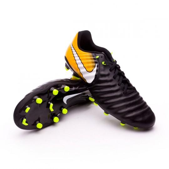 Bota  Nike Tiempo Ligera IV FG Black-White-Laser orange-Volt