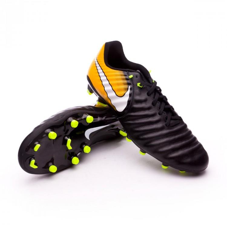 69a626b604ea Chaussure de football Nike Tiempo Ligera IV FG Black-White-Laser ...