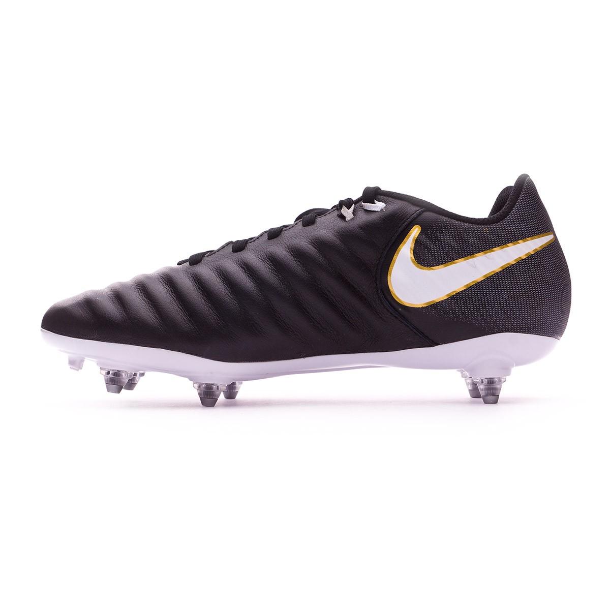 789abd2bb7f Bota de fútbol Nike Tiempo Ligera IV SG Black-White - Tienda de fútbol  Fútbol Emotion