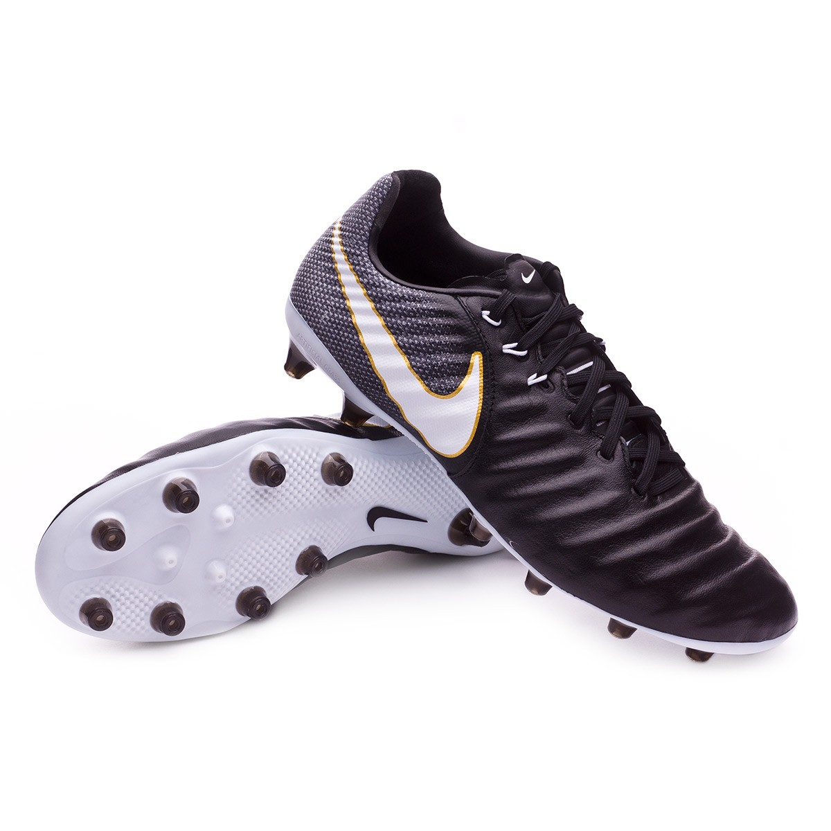 d771217f3cc53 Football Boots Nike Tiempo Legacy III AG-Pro Black-White - Football ...