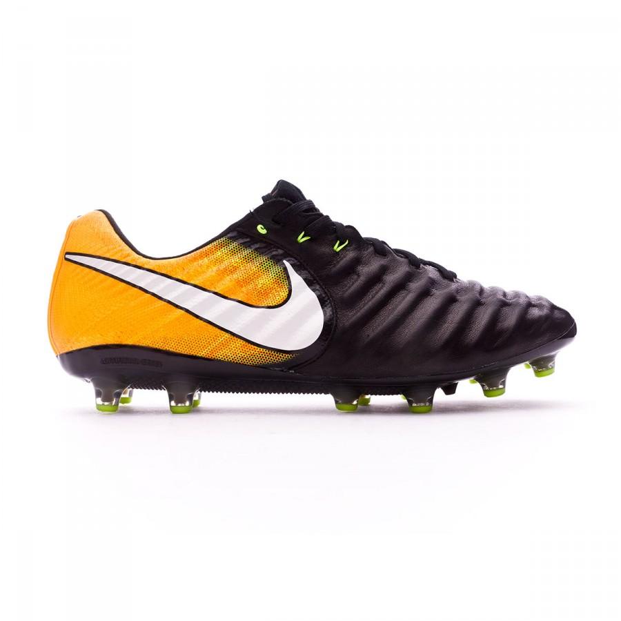 c39e7e9f954b7 Football Boots Nike Tiempo Legend VII ACC AG-Pro Black-White-Laser orange-Volt  - Tienda de fútbol Fútbol Emotion