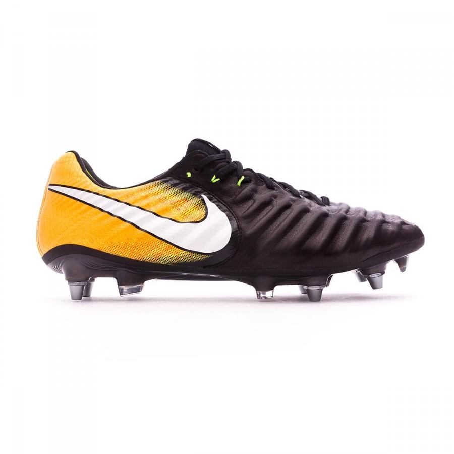 800469d03e4e Football Boots Nike Tiempo Legend VII ACC SG-Pro Black-White-Laser  orange-Volt - Football store Fútbol Emotion