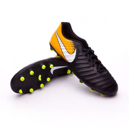 Bota  Nike Tiempo Rio IV FG Black-White-Laser orange-Volt