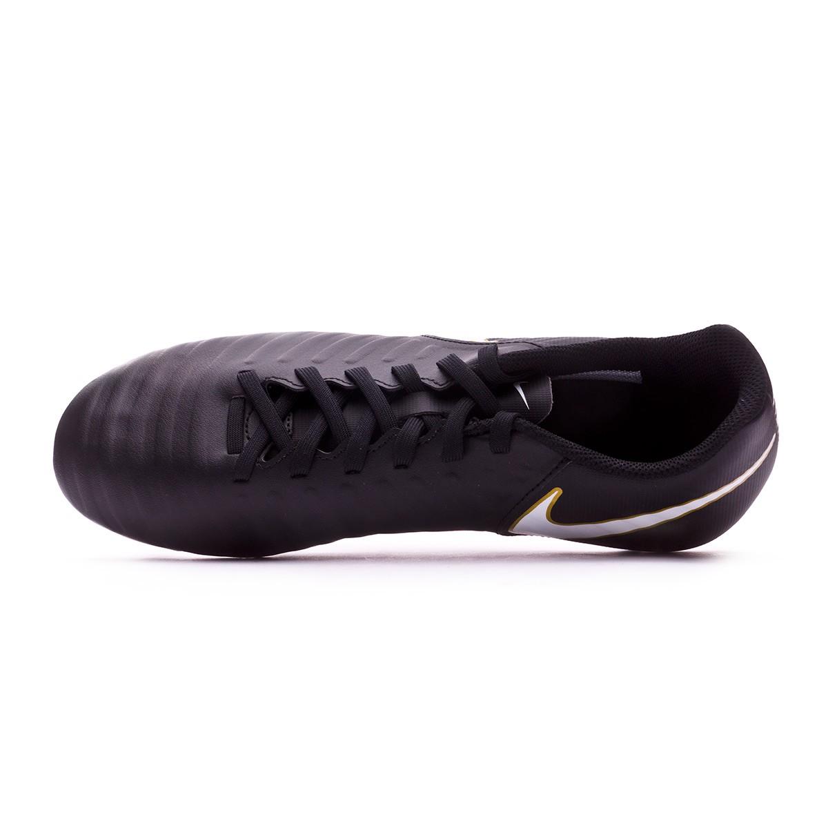 7834c88ecc Football Boots Nike Tiempo Rio IV SG Black-White - Tienda de fútbol Fútbol  Emotion