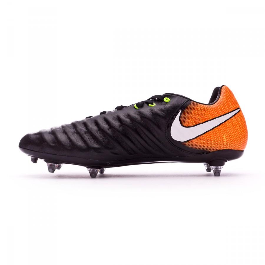 Boot Nike Tiempo Legacy III SG Black-White-Laser orange-Volt - Football  store Fútbol Emotion 5101dccc892e