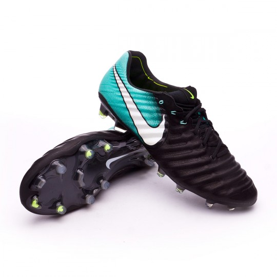 Bota  Nike Tiempo Legend VII ACC FG Black-White-Light aqua-Volt