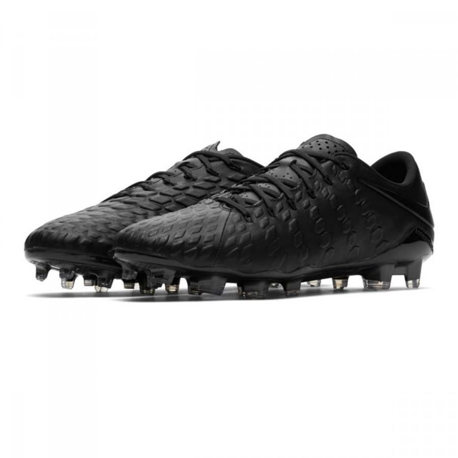 4b74fa4f9 Football Boots Nike Hypervenom Phantom III ACC TC FG Black-White ...