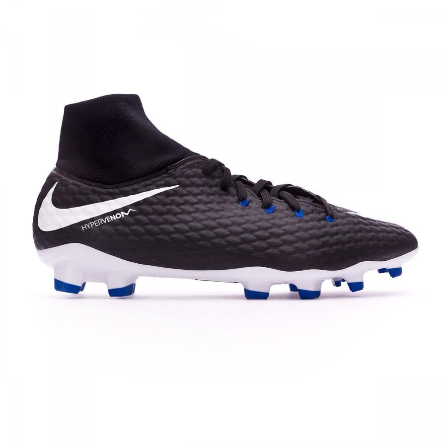 Zapatos de fútbol Nike Hypervenom Phelon III DF FG Black-White -  Soloporteros es ahora Fútbol Emotion 6fa993410da1b