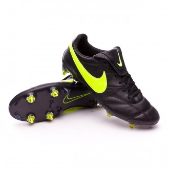Bota  Nike Premier II Traction SG-Pro Anti-Clog Black-Volt