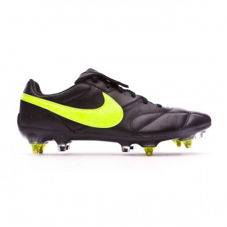 Football Boots Nike Tiempo Premier II Traction SG-Pro Anti-Clog Black-Volt