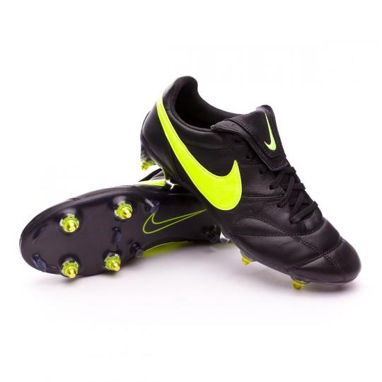 Boot  Nike Premier II Traction SG-Pro Anti-Clog Black-Volt