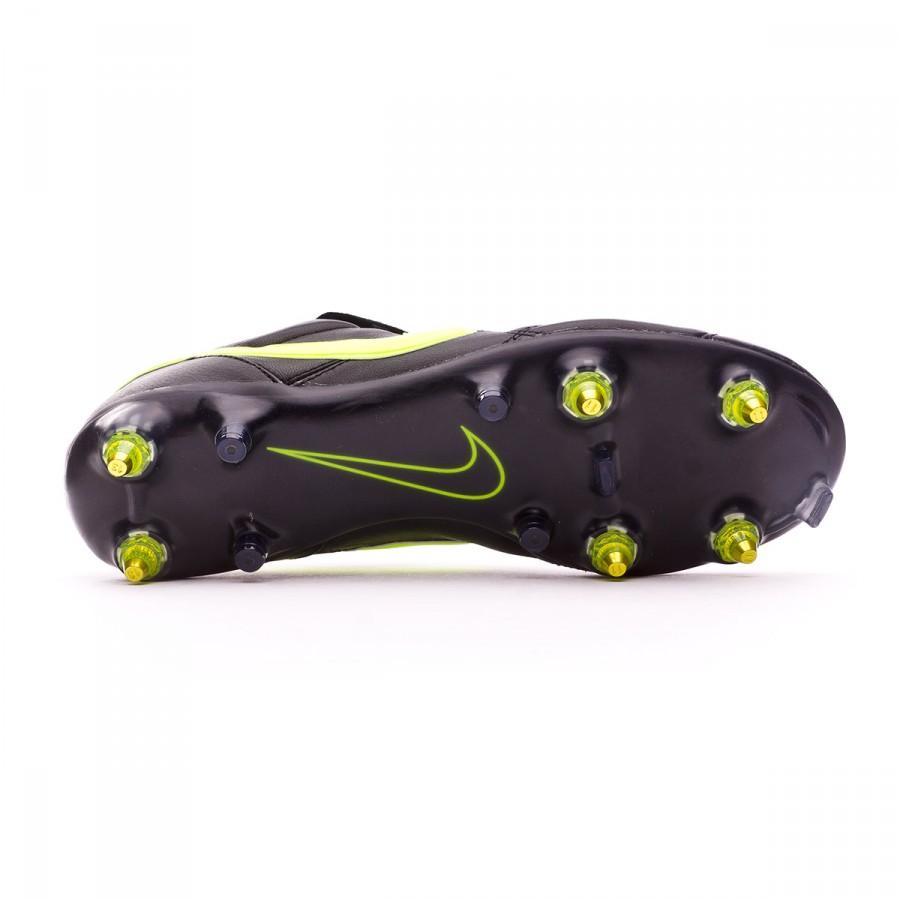 ff35ae85ee8c Football Boots Nike Tiempo Premier II Traction SG-Pro Anti-Clog Black-Volt  - Football store Fútbol Emotion