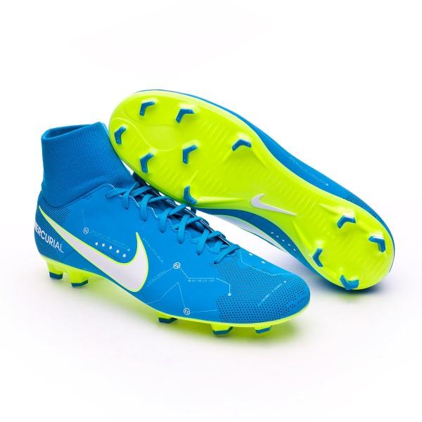 e62e8b91e Football Boots Nike Mercurial Victory VI DF FG Neymar Blue orbit-White-Blue  orbit-Armory navy - Tienda de fútbol Fútbol Emotion
