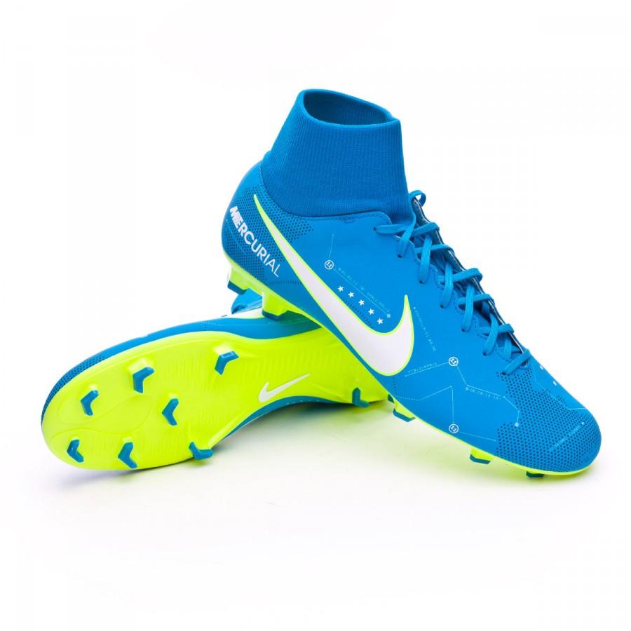 d65da6c08 Football Boots Nike Mercurial Victory VI DF FG Neymar Blue orbit ...