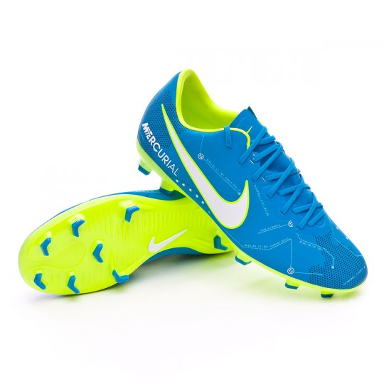 Chaussure  Nike Jr Mercurial Vapor XI FG Neymar Jr Blue orbit-White-Blue orbit-Armory navy
