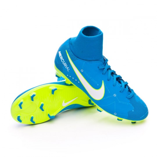 Chaussure  Nike Jr Mercurial Victory VI DF FG Neymar Jr Blue orbit-White-Blue orbit-Armory navy