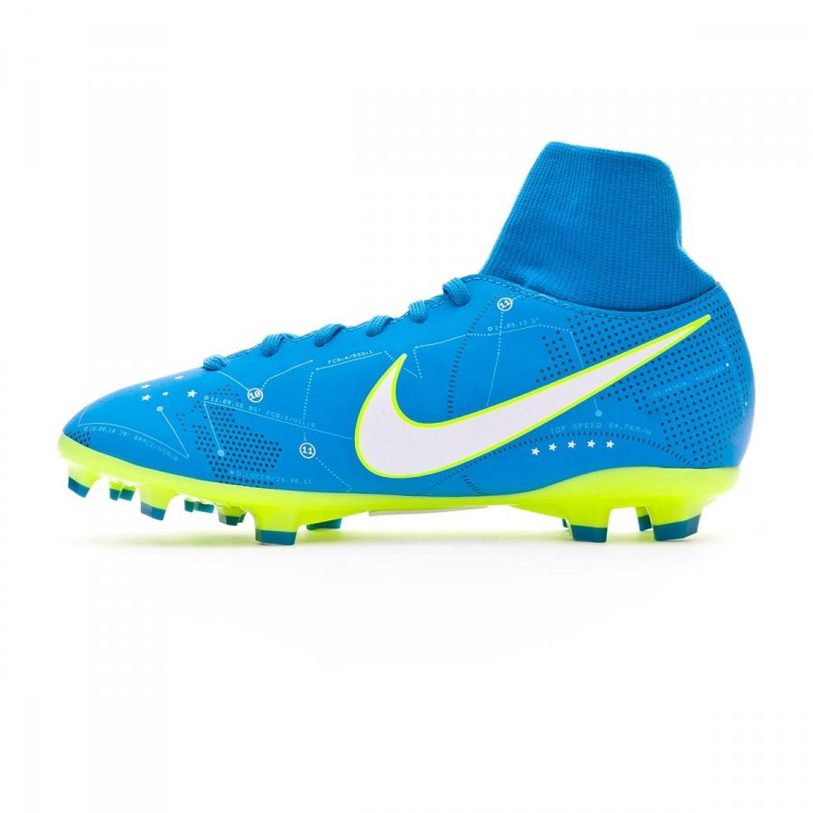 6cb4e29da Bota de fútbol Nike Mercurial Victory VI DF FG Neymar Niño Blue  orbit-White-Blue orbit-Armory navy - Tienda de fútbol Fútbol Emotion