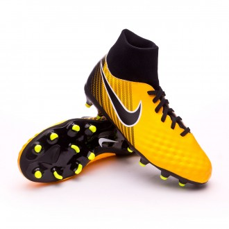 Chuteira  Nike Jr Magista Onda II DF FG Laser orange-Black-White-Volt
