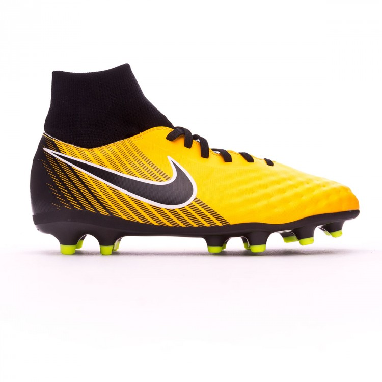 Boot Nike Kids Magista Onda II DF FG Laser orange-Black-White-Volt ... 489e208979de