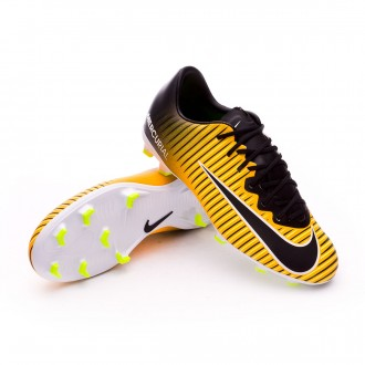 Jr Mercurial Vapor XI FG Laser orange-Black-White-Volt