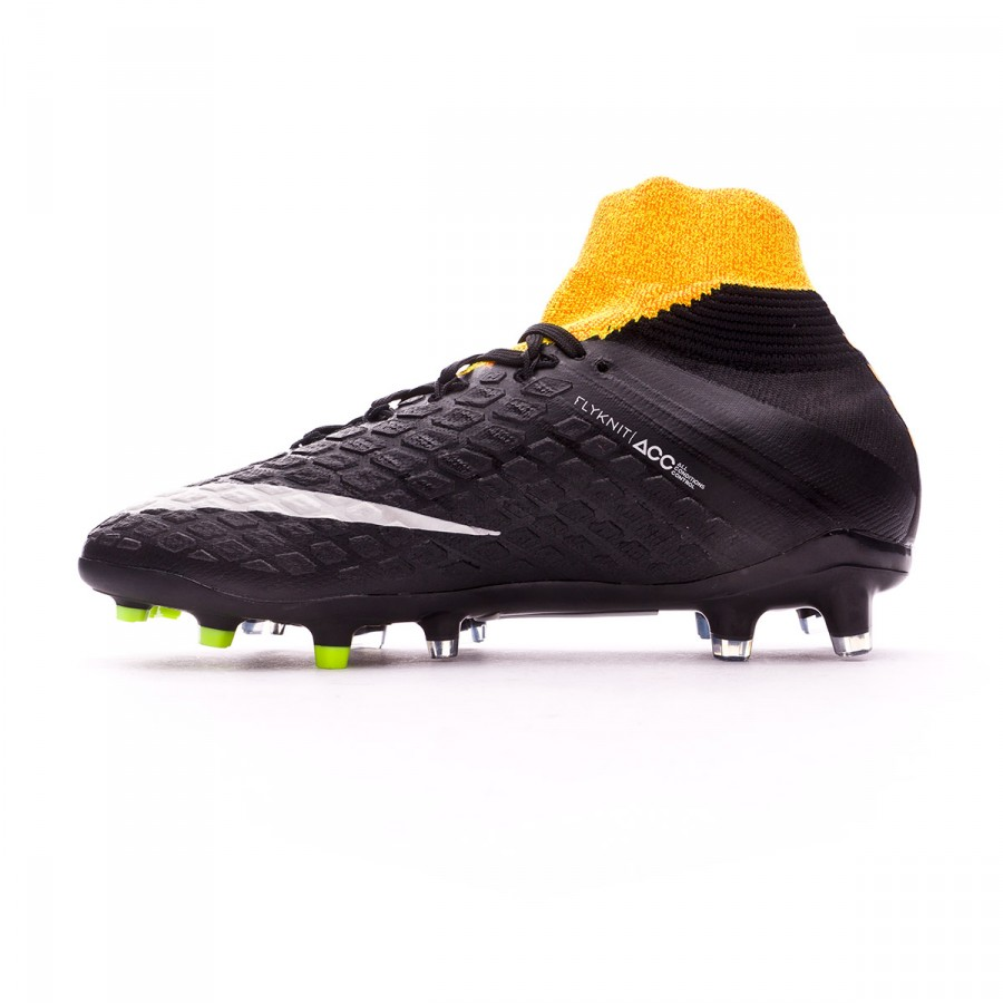 purchase cheap 8badb b3e2a Boot Nike Jr Hypervenom Phantom III DF FG Laser orange-Black-White-Volt -  Soloporteros es ahora Fútbol Emotion