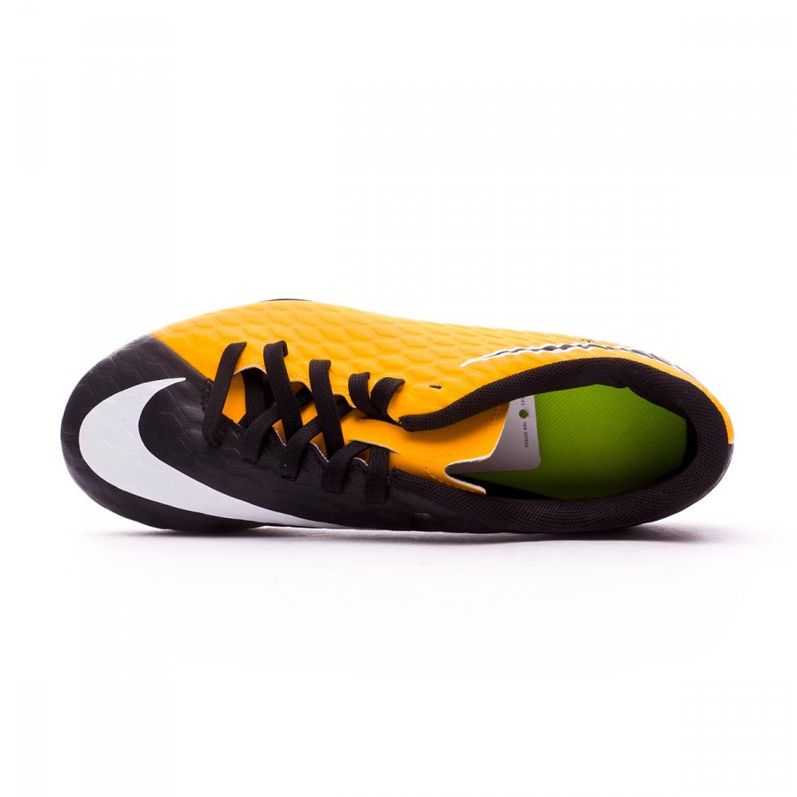... Bota Hypervenom Phade III FG Niño Laser orange-Black-White-Volt.  Categorías de la Bota de fútbol e68d3e5281cb0