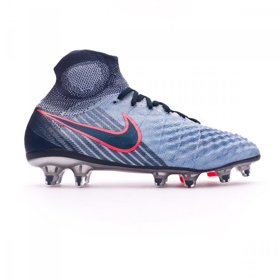 45758dedca4 Football Boots Nike Jr Magista Obra II FG Light armory blue-Armory navy-Armory  blue - Football store Fútbol Emotion