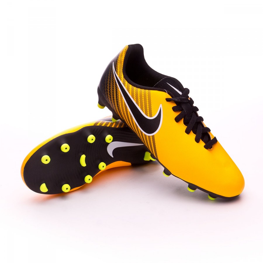 4d8dc7c995a Football Boots Nike Jr Magista Ola II FG Laser orange-Black-White ...