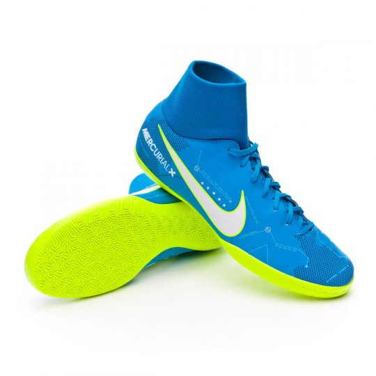 Zapatilla  Nike MercurialX Victory VI DF IC Neymar Blue orbit-White-Armory navy