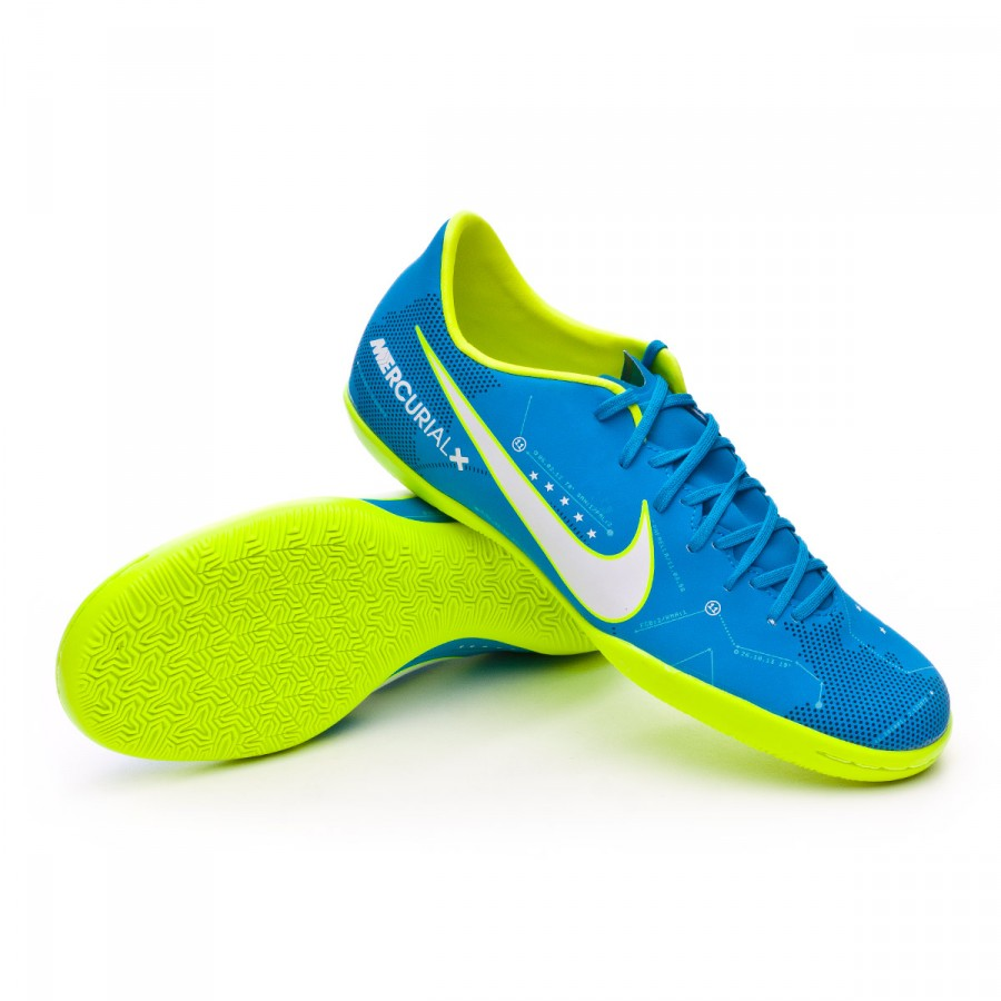 low priced 2b602 dbe45 Zapatilla MercurialX Victory VI IC Neymar Blue orbit-White-Armory navy
