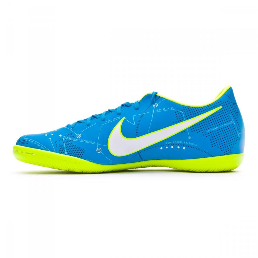 c08d741f5db Futsal Boot Nike MercurialX Victory VI IC Neymar Blue orbit-White-Armory  navy - Football store Fútbol Emotion