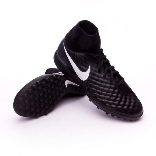 Zapatilla de fútbol sala  Nike Magista Onda II DF Turf Black-White-Cool grey-Stadium green