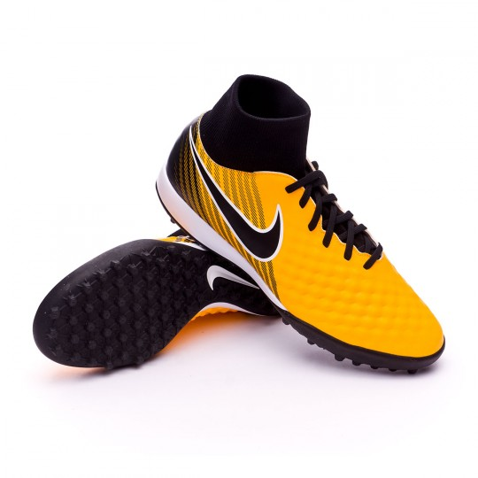 Zapatilla  Nike MagistaX Onda II DF Turf Laser orange-Black-White-Volt