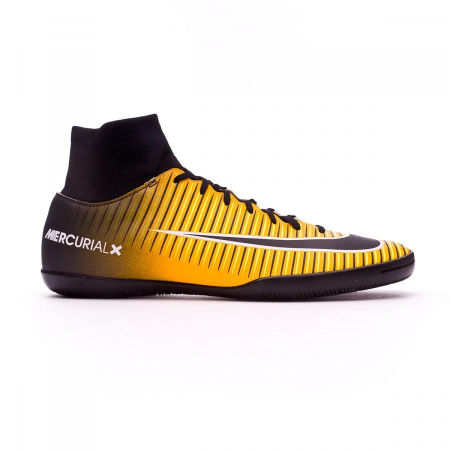 sports shoes dd2a3 8375e Futsal Boot Nike MercurialX Victory VI DF IC Laser orange-Black-White-Volt  - Football store Fútbol Emotion