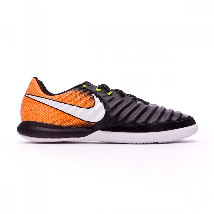 1f2bd2a51da Futsal Boot Nike TiempoX Finale IC Black-White-Laser orange-Volt - Football  store Fútbol Emotion