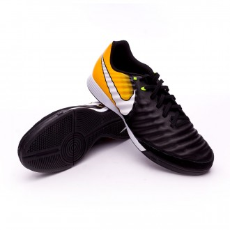 Futsal Boot Nike TiempoX Ligera IV IC Black-White-Laser orange-Volt