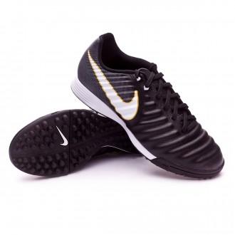 timeless design bb24b 4bfe3 Football Boot Nike TiempoX Ligera IV Turf Black-White