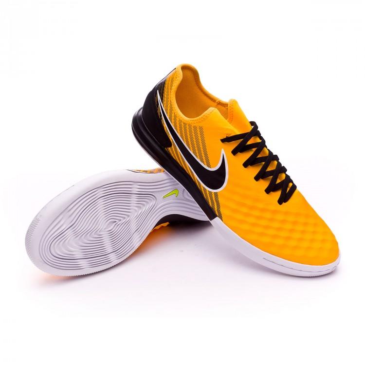 Futsal Boot Nike MagistaX Finale II IC Laser orange-Black-White-Volt ... a521ead37